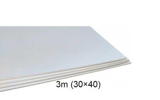 فوم سفید ۳ میل ۴۰ × ۳۰