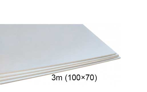 فوم سفید ۳ میل ۷۰ × ۱۰۰