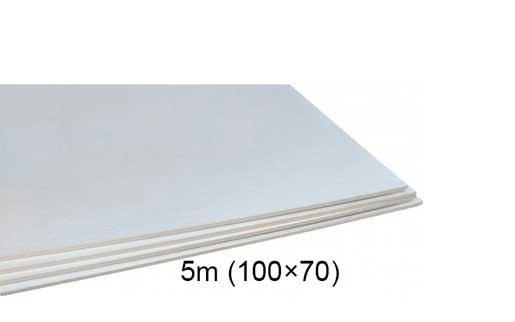 فوم سفید ۵ میل ۷۰ × ۱۰۰