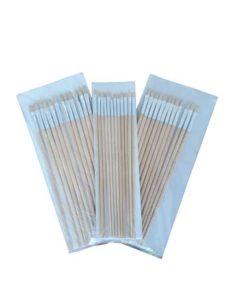 قلم موی رنگ روغن چینی تکی ۱۲ عددی